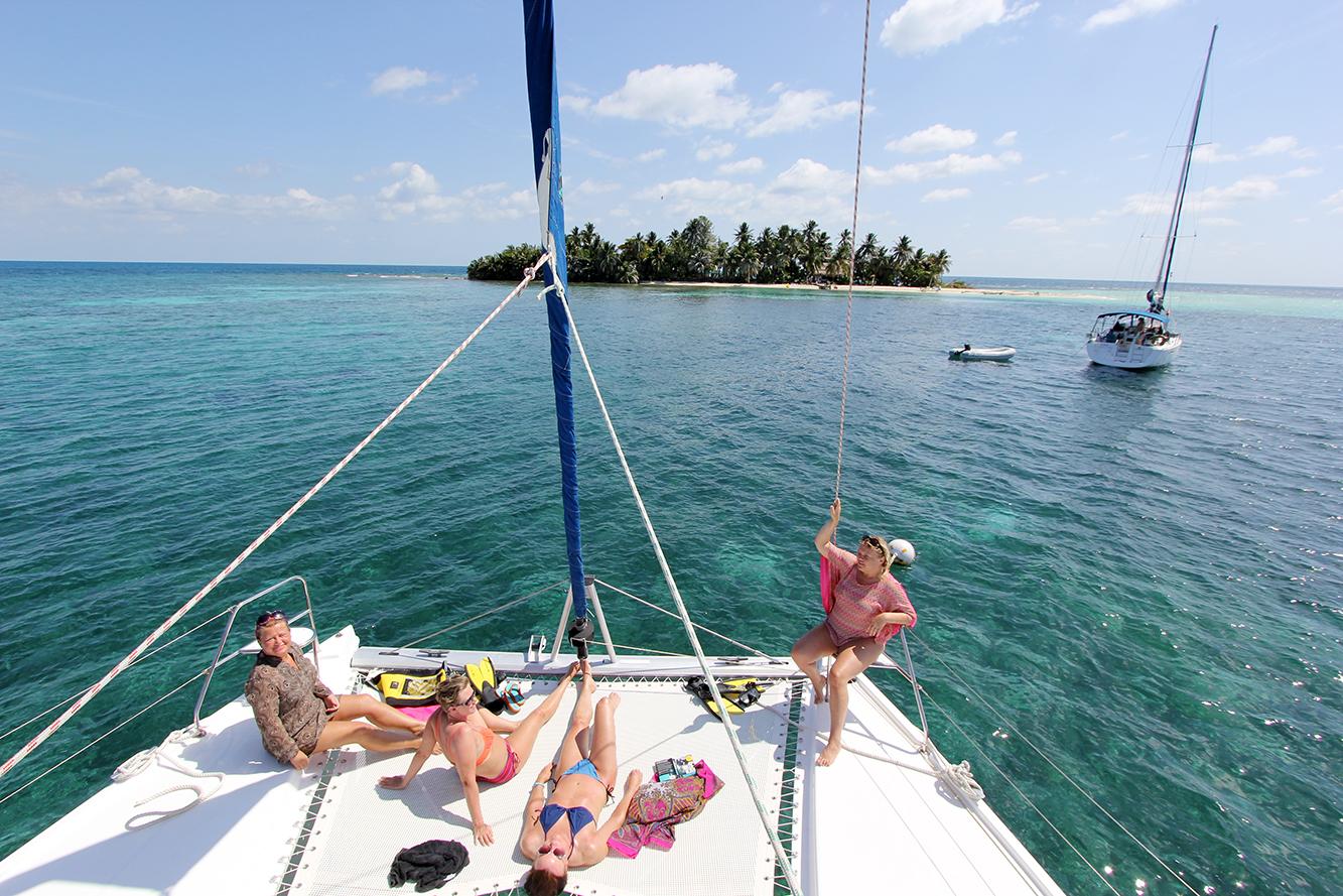 vidunderøya Ranguana Caye i Belize.