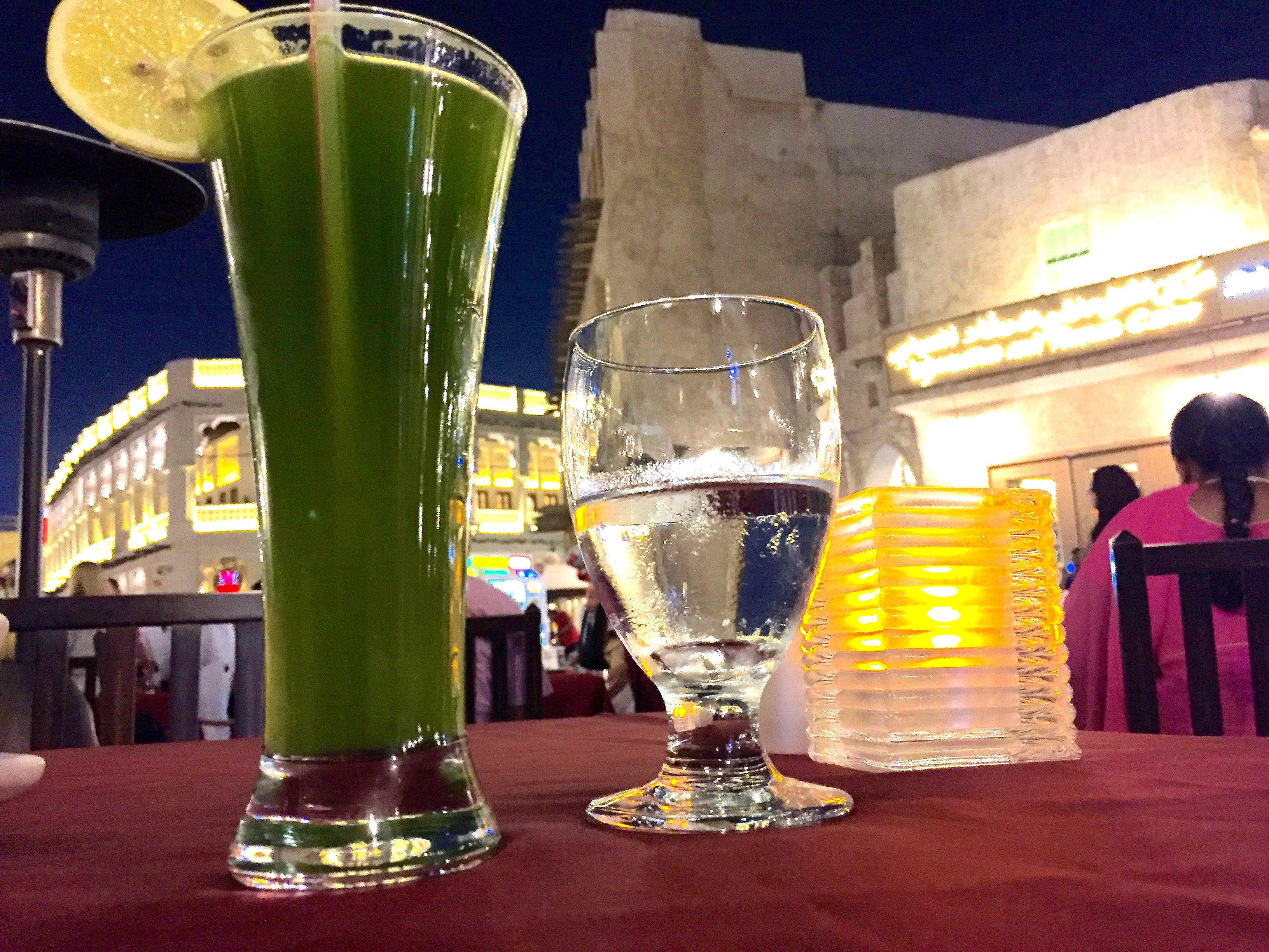 Frisk ren limejuice er like godt som en mojito!