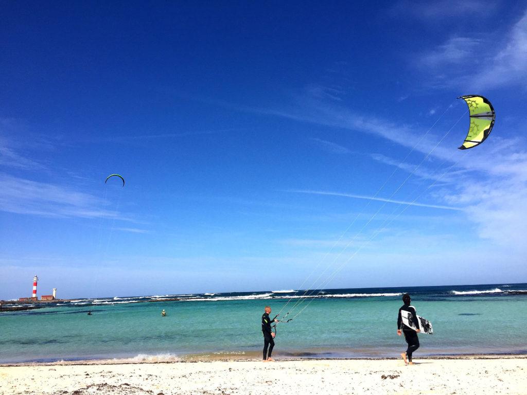 El Cotillo-området har noen av øyas beste badestrender.