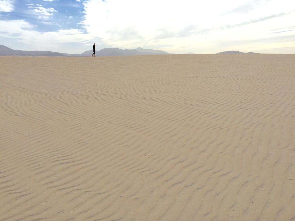 Nei, Sahara er faktisk ikke så langt unna !