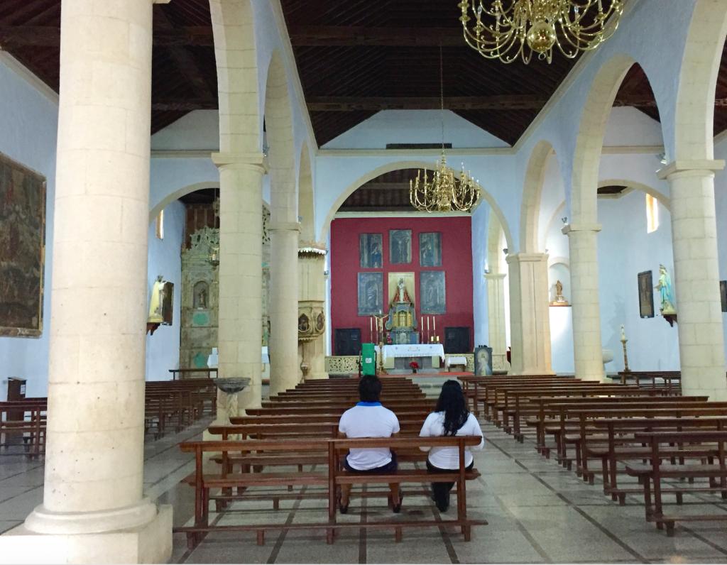 Vår Frue Kirke i La Oliva- et rolig avbrekk fra suset ute.
