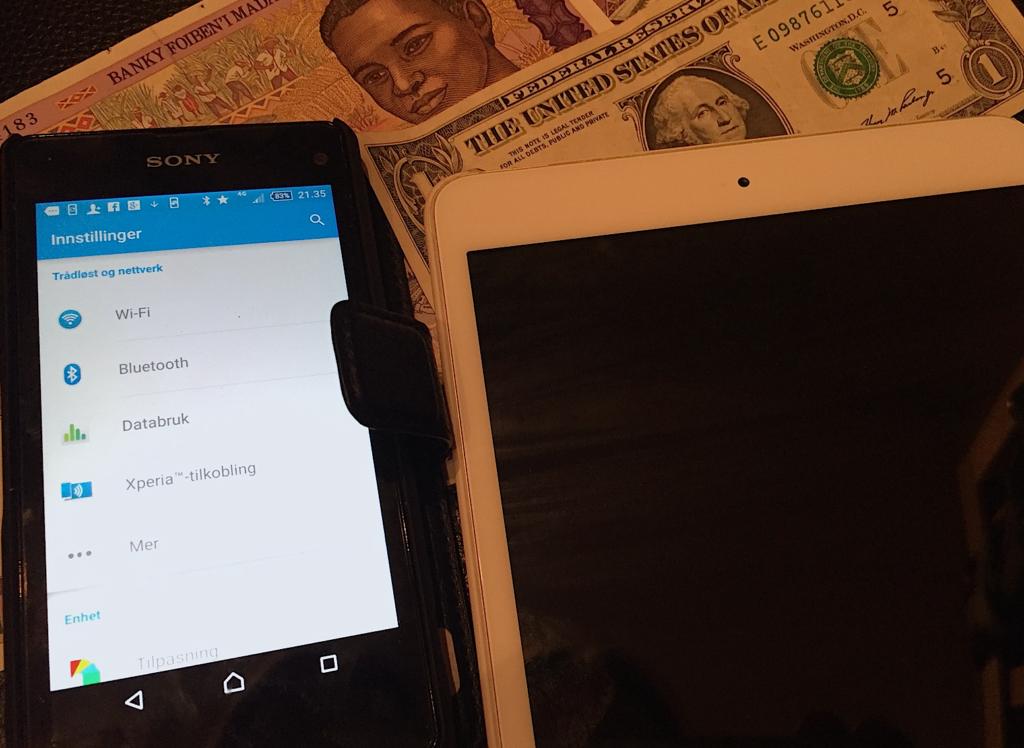 Mobil- og databruk utenfor Europa kan fortsatt bli dyrt om du bruker lokale opertatører istedet for Wifi.