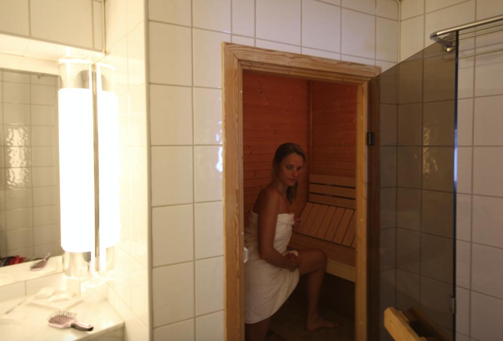 BAD-STUE: Egen badstue på rommet var definitivt ikke på hotellet i 1977.
