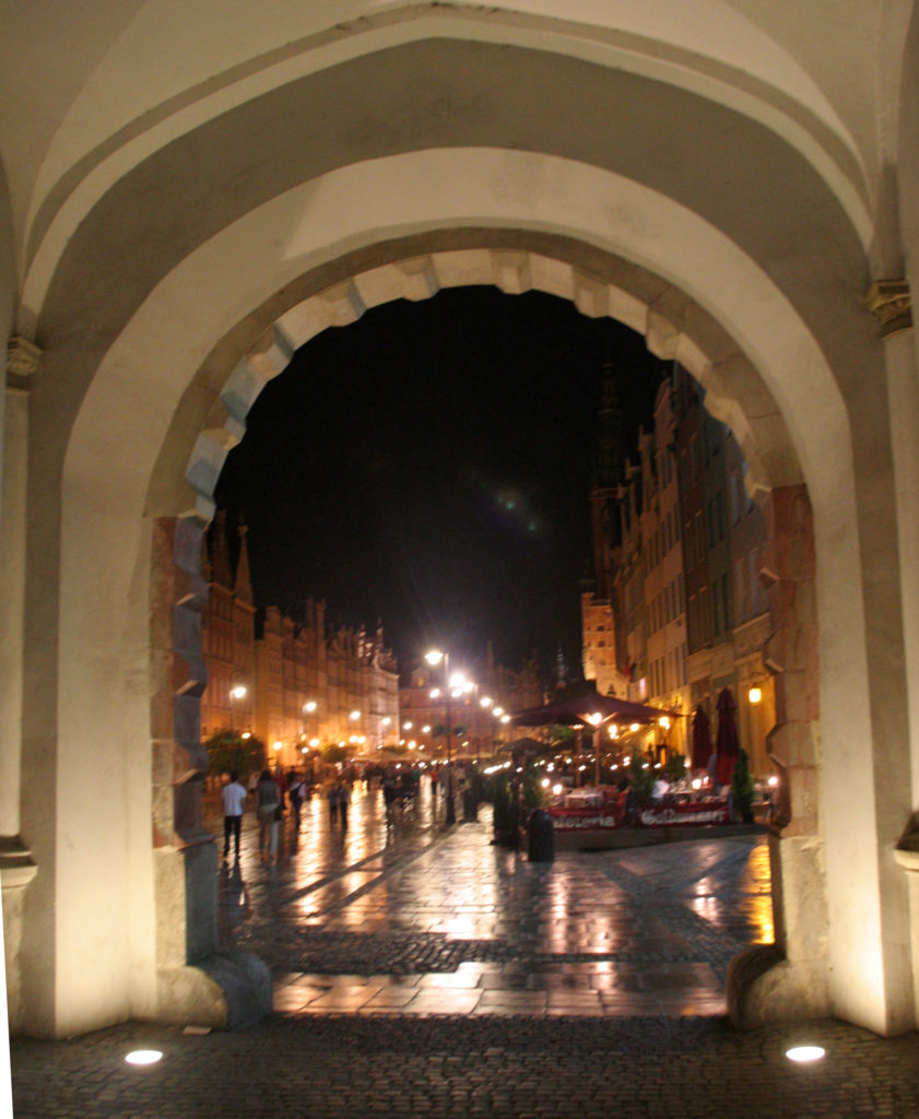 STORBY: Gdansk er landets sjette største by, men gamlebyen har beholdt Hansastilen.