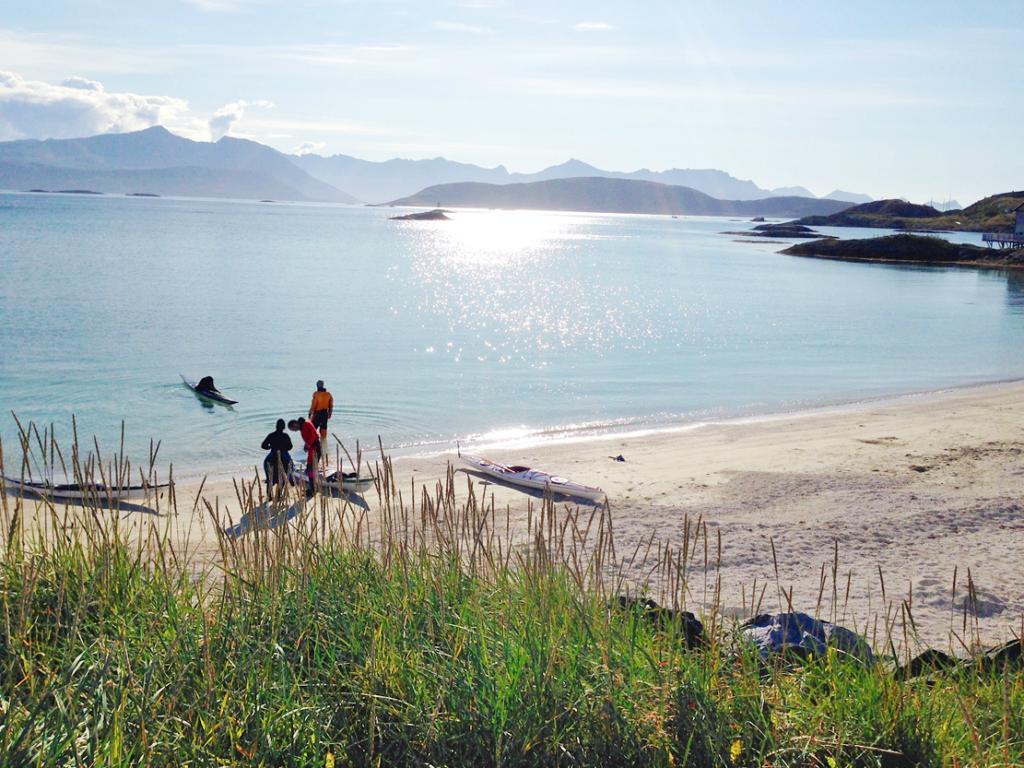 60 GRADER NORD: Sommerøya er en av mine store favoritter. Her fra en augustdag 2014. Foto: Linn Krogh Hansen.