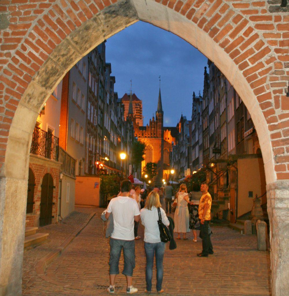 BYPORT: Gdansk sentrum består av middelalderbygninger.