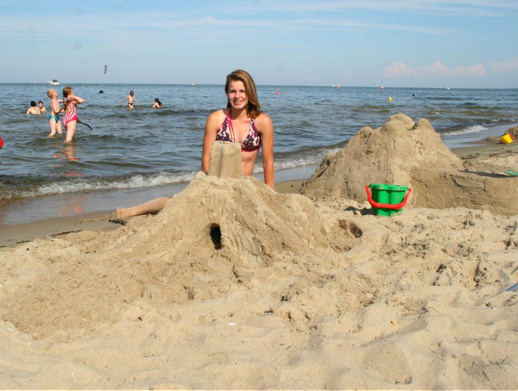 FAVORITTSTED: Amerikanske Kelly har polske aner, og mener Sopot har alt man kan ønske for en vellykket sommerferie.