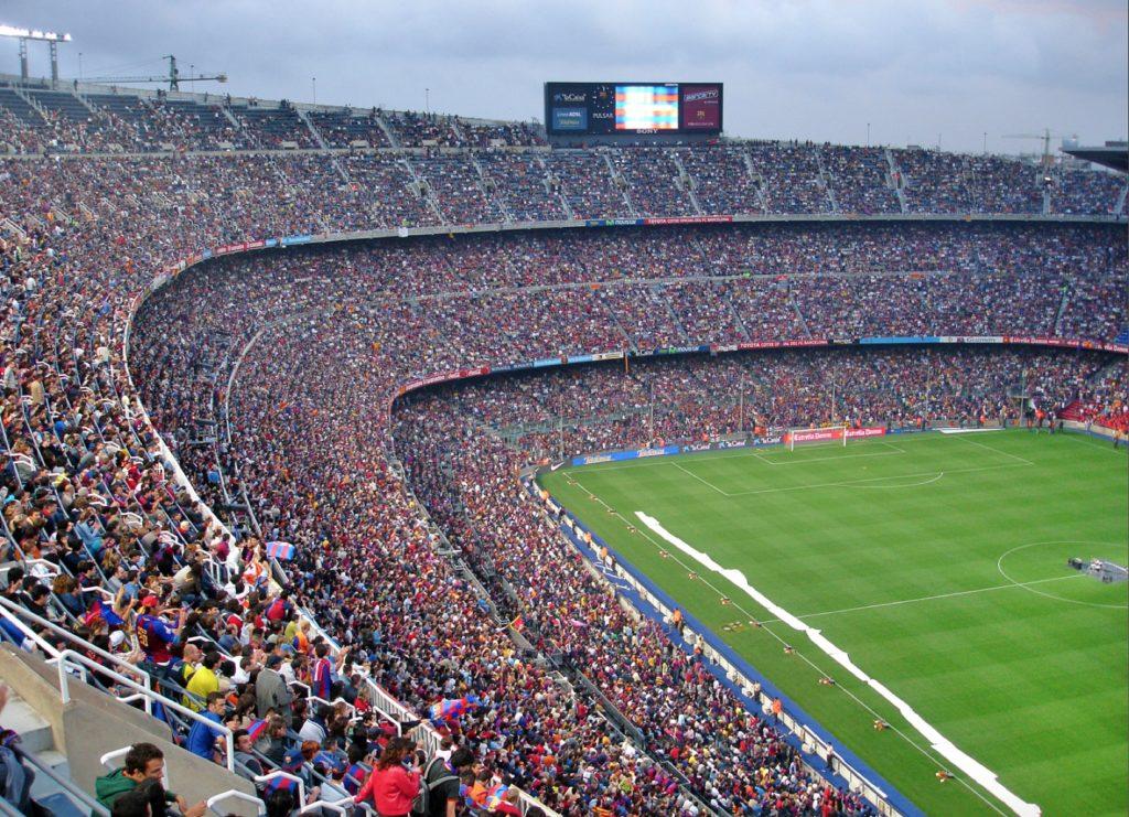 BARCA: Få med eg en kamp på Camp Nou- om ikke annet for den magiske stemningens skyld . Foto: wikimedia/ Mutari 2007.