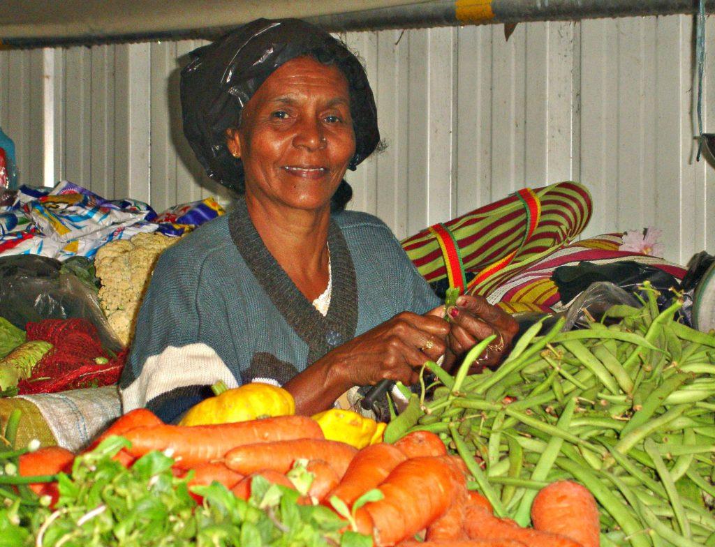 Markedet i Port-Louis.