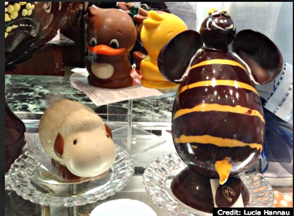 SJOKOLADEBYEN: Det var her det moderne sjokoladeventyret startet. Foto. Browsingitaly.com.