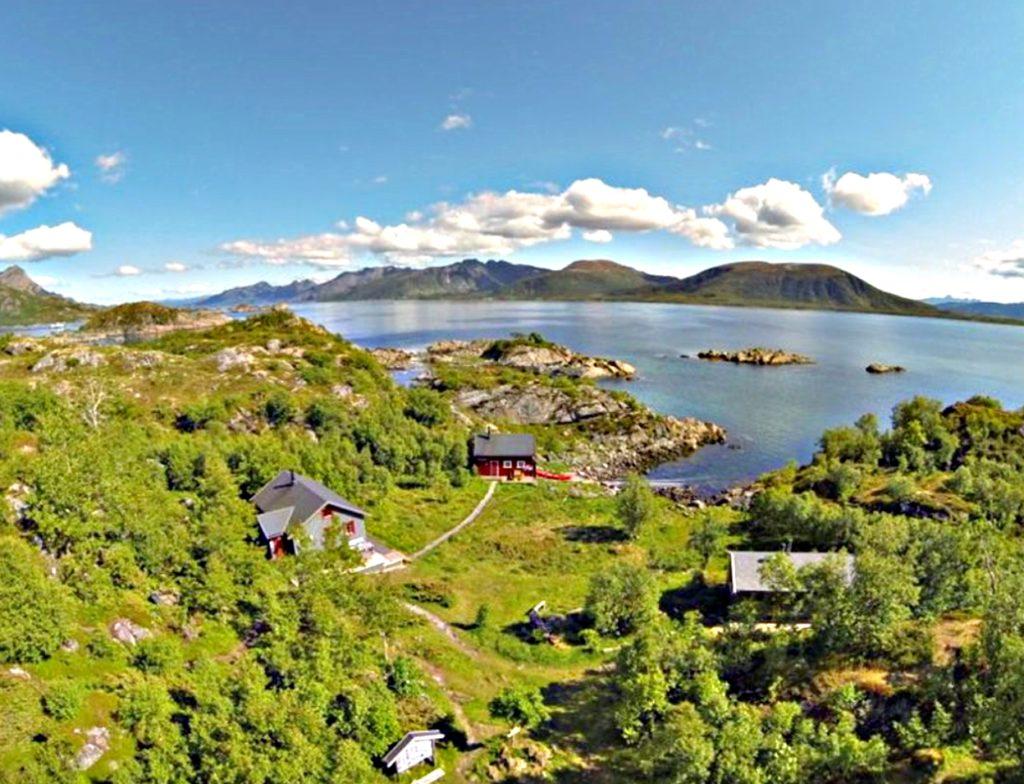 VESTERÅLSEN: Guvåghytta er Vesterålen Turlags mest besøkte hytte. Foto: Bjørn Eide/DNT.