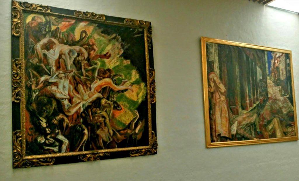 DRAMATISK: Sørensens «Inferno» y.v og «Gatekamp» er dramatiske.