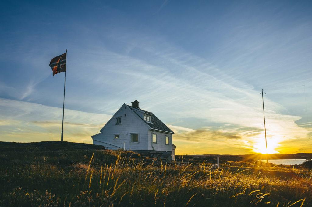 TORUNGEN FYR: På vakre Torungen bor du rett ved Skagerrak. Foto: Marius Dalseg Saetre/DNT