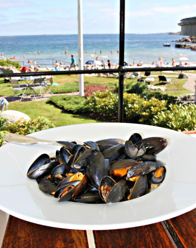 PERFEKT: Smaken av syden og blåskjell gjør seg på sommerens hittill varmeste dag.