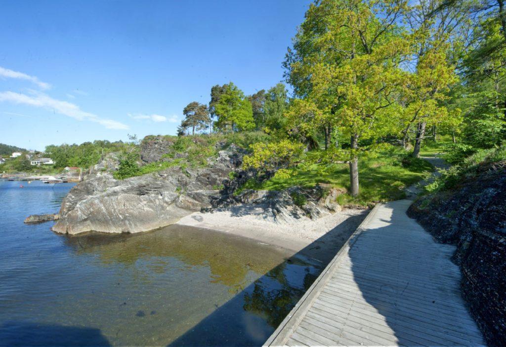 EGEN STRAND: Mule Varde ved Porsgrunn. Foto: DNT.