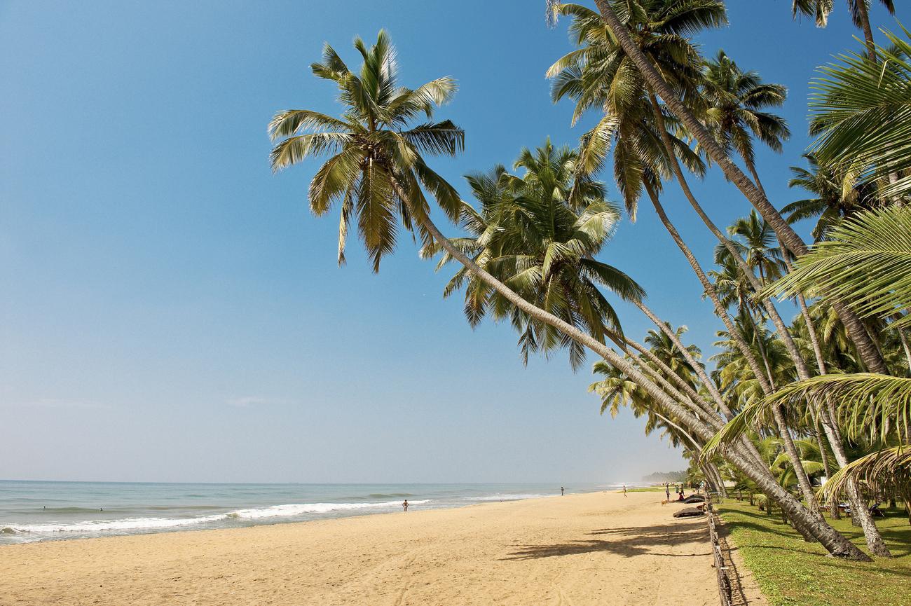 """STRANDDRØM: Sri Lanka har både strender og opplevelser på """"land"""". Foto: STARTOUR/ Erik Sahlin."""