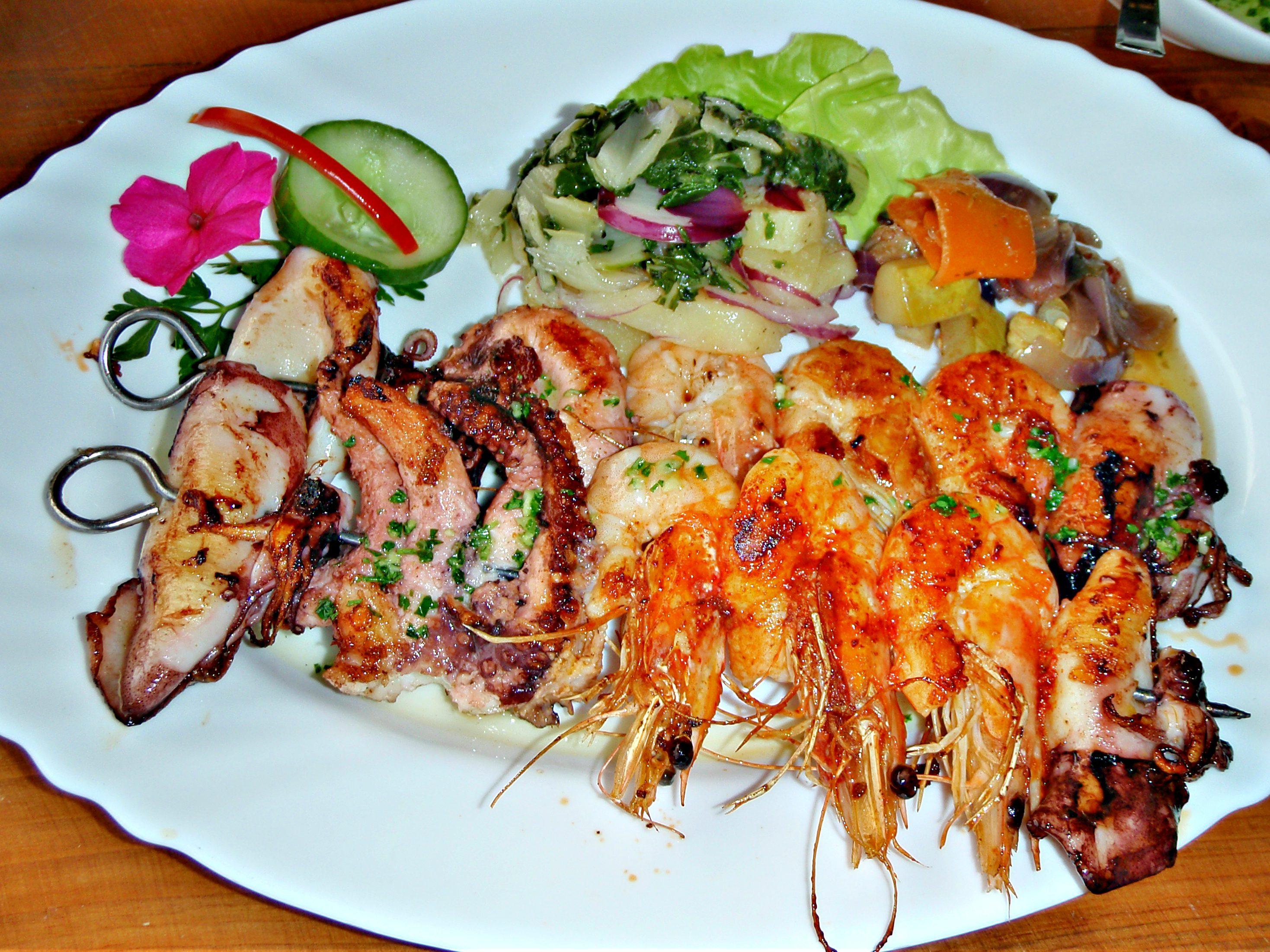 ANERKJENT: Restoran Misko serverer nydelig skalldyr.Foto: Jeljene Sisivics.
