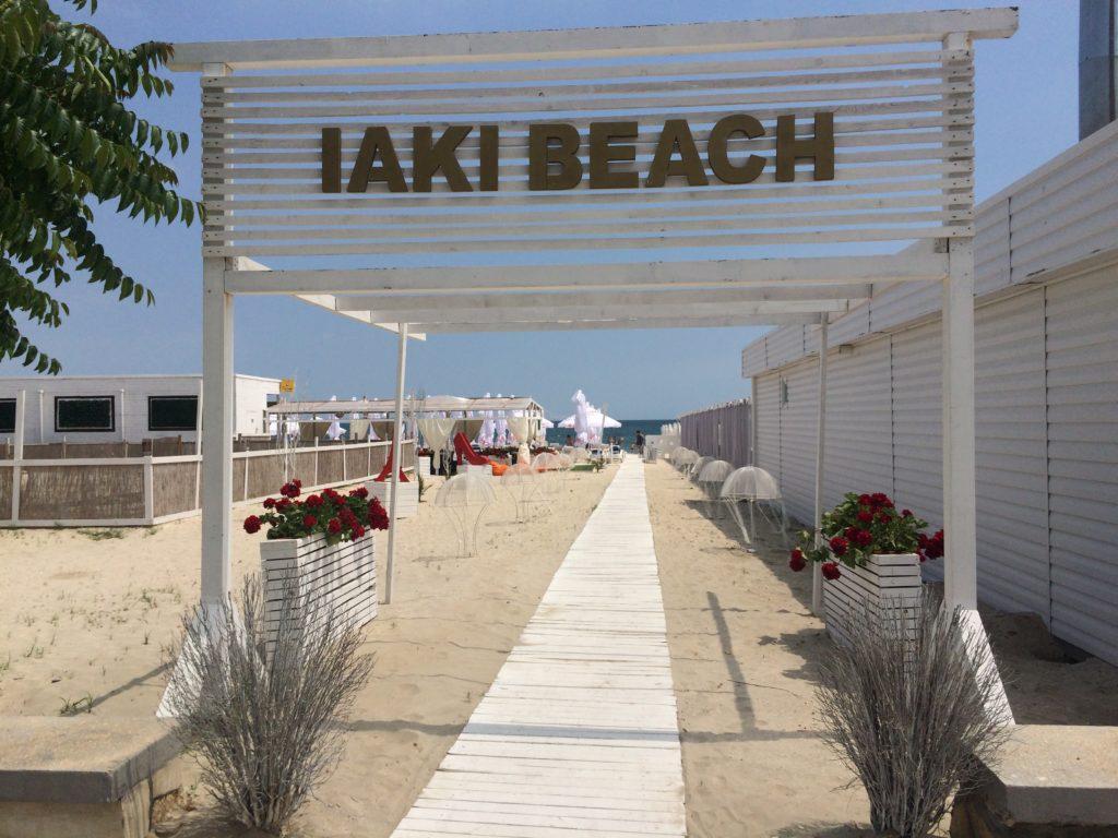 Iaki beach Mamaia