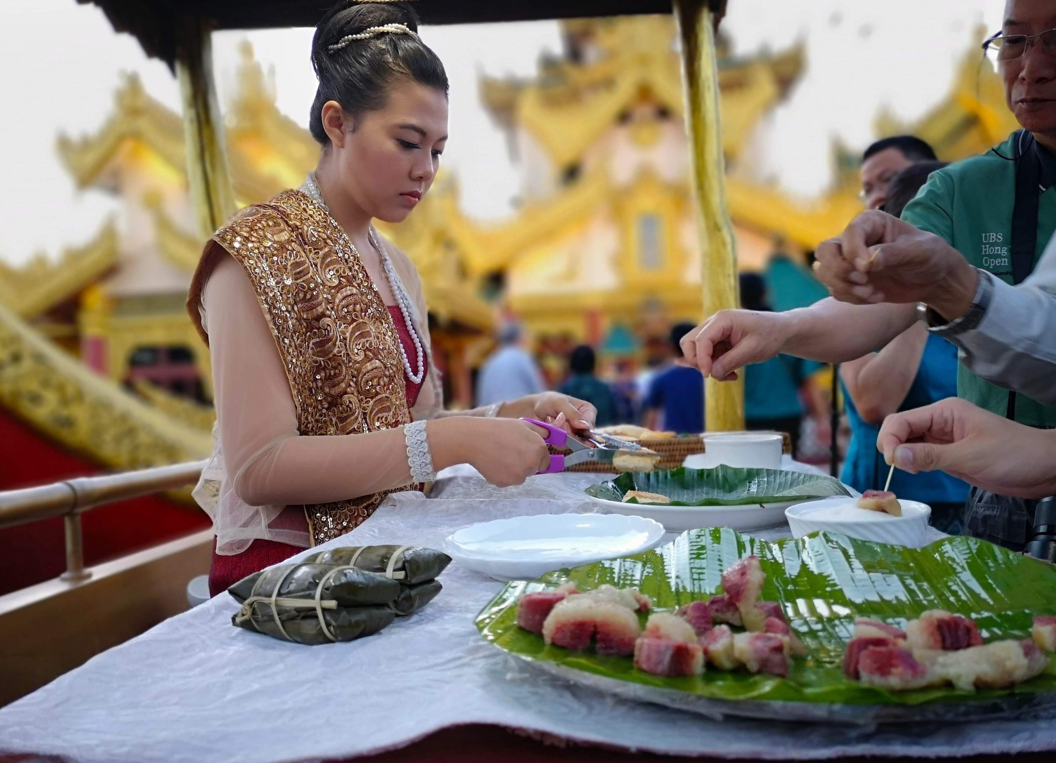 Gylne øyeblikk i Yangon